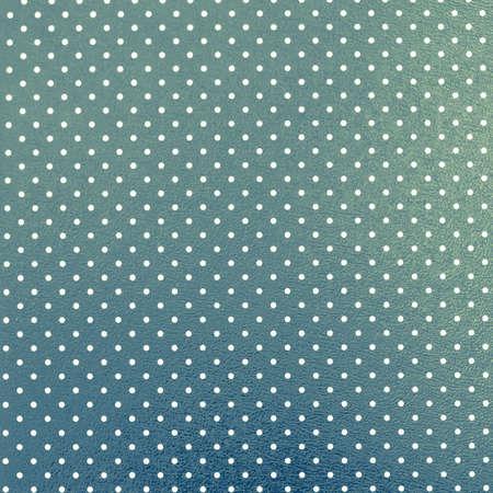 polka dotted: Punteada azul-verde de fondo