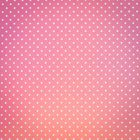 Dotted pink background photo