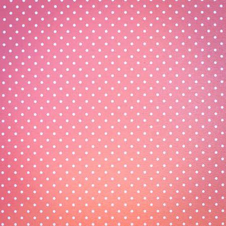 polka dotted: Fondo de color rosa con puntos Foto de archivo