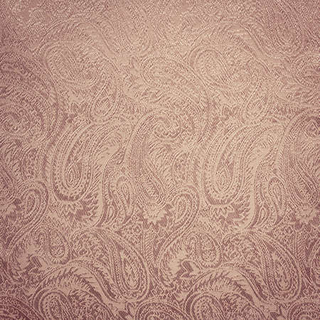 Pink paisley background texture Stock Photo