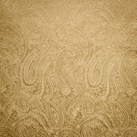 Golden paisley background texture