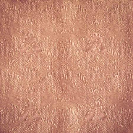 Vintage damask texture background Stock Photo