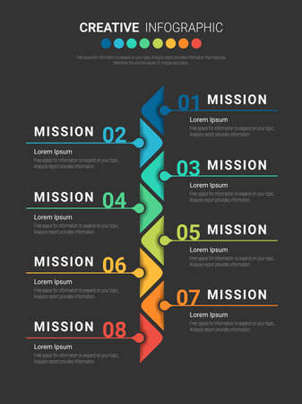 Infographic design and Presentation Business, business concept. Can be used for presentations banner, workflow layout, process diagram, flow chart.