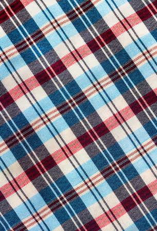 Abstract background texture of some plaid fabric photo