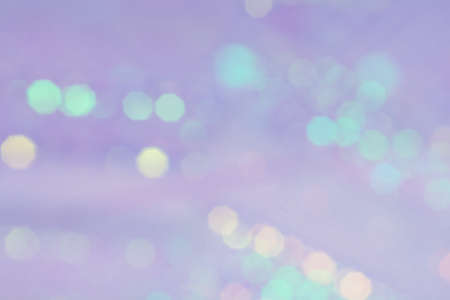 photography backdrop: Purple and green bokeh abstract background Stock Photo