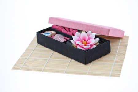 aroma therapy box set Stock Photo - 13116042
