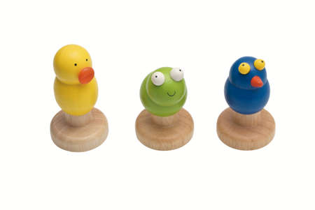 duck, frog and bird toy Stock Photo - 13164159