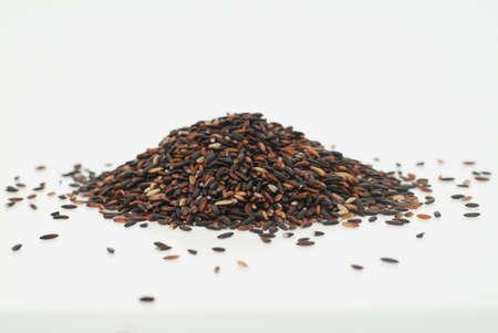 black Glutinous rice Stock Photo - 13164971