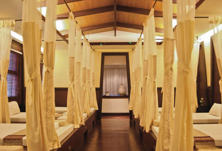 thai spa room Stock Photo - 13161127
