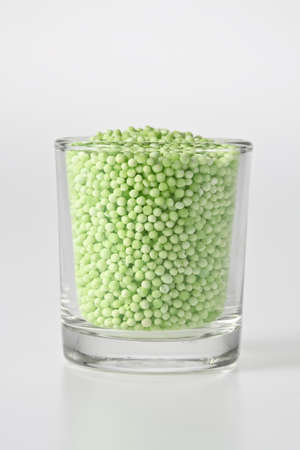 starch: sago starch in glass