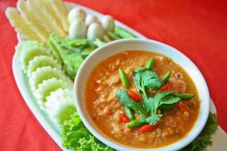 ra: nam prik pla ra, thai food