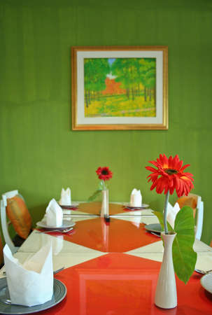dinning table set photo