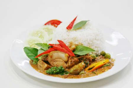 pad ped moo pa, thai food