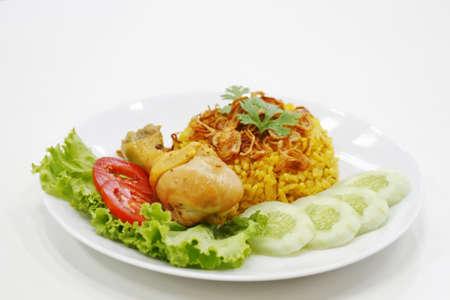 khao mok kai, thai food