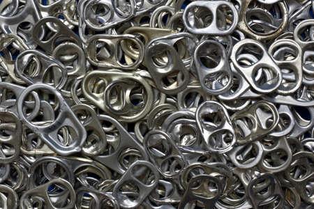 background aluminium caps Stock Photo - 13483817