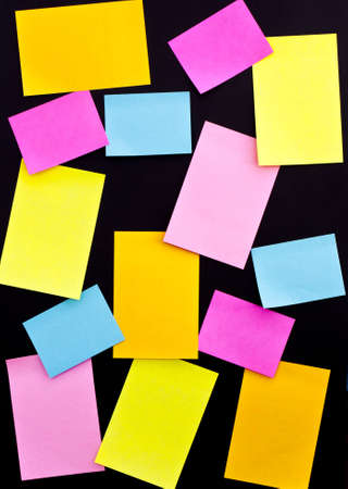taking notes: post it on black board, for use of taking notes, or authors declare