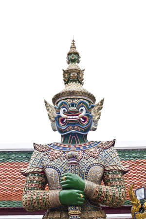 thai giant, created to convey meaning to the protection temple