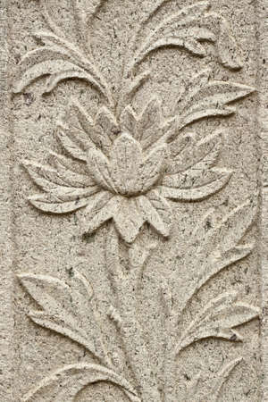 stone carvings of flowers, long-lasting beauty and timeless