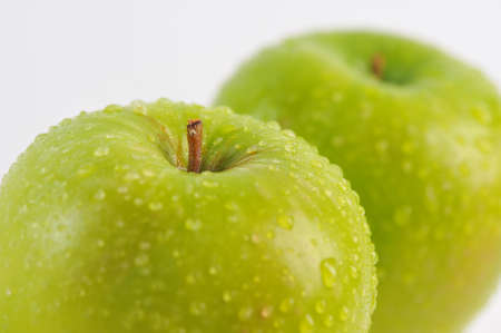 green apple can be cooked in a variety of foods photo