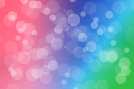 rainbow abstract background, use for decorate or graphic design Stock Photo