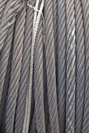 iron rope background, use for decorate or graphic design Stock Photo - 14809132