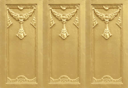 plaster gold, use for decorate the buildings
