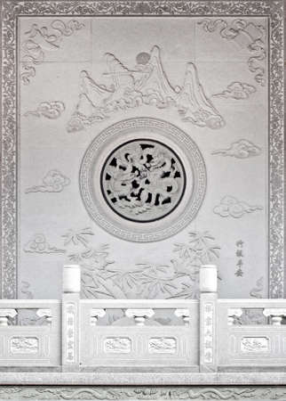 decorating the chinese style. The decor is colorful. Stock Photo - 14803125
