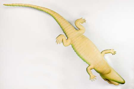 crocodile toy Stock Photo