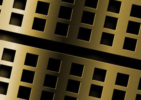 holing: metallic plate