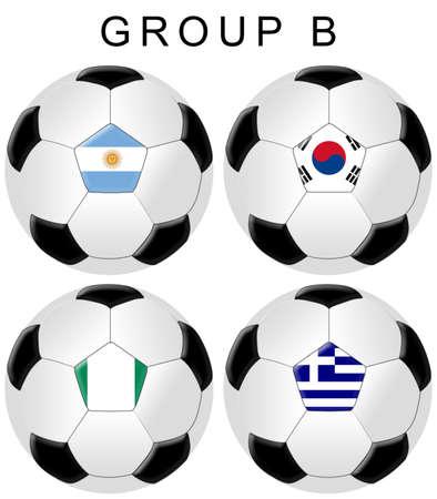 Soccer  Football World Cup Group EB  photo