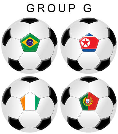 cote d ivoire: Soccer  Football World Cup Group G  Stock Photo