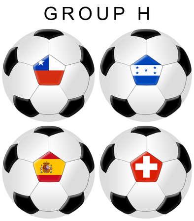 soccer wm: F�tbol  grupo de Copa Mundial de f�tbol H