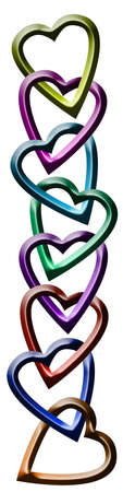 Hearts Chain photo