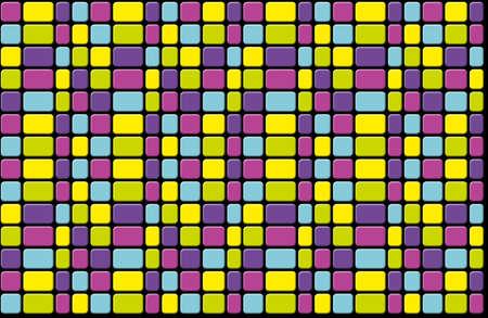 Multicolor tiles photo