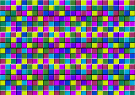 rainbow cubes photo