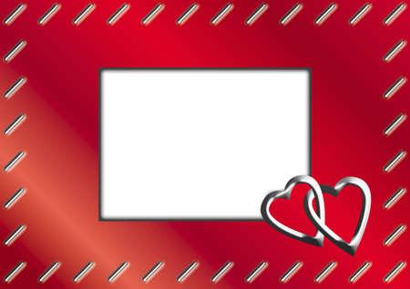Valentine Day  Wedding Frame photo