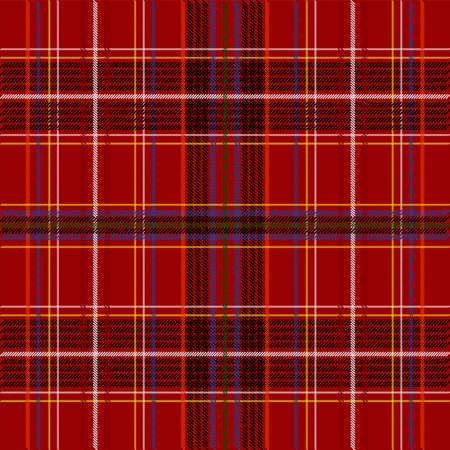 Tartan Fabric  Stock Photo - 7050316