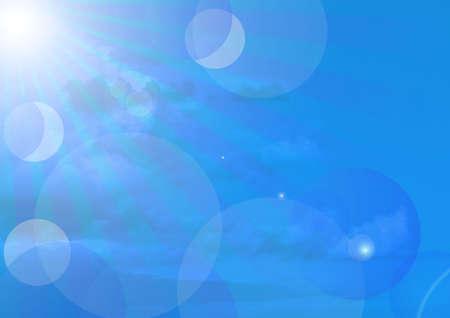firmament: Summer Background Stock Photo