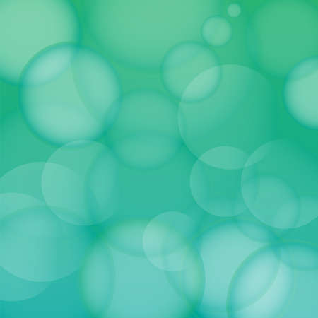 Abstract Background - Bubbles on Azure Gradient Background photo