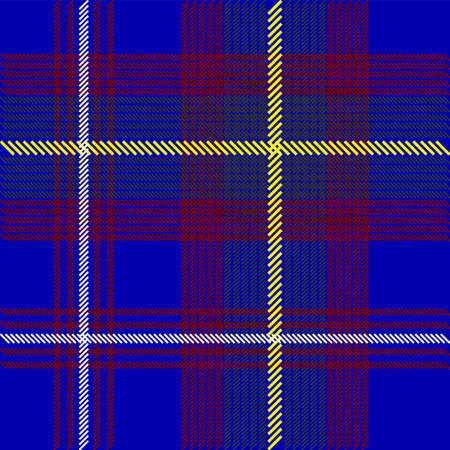 Blue Tartan Fabric Texture Stock Photo - 7205907