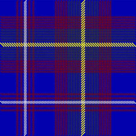 Blue Tartan Fabric Texture Stock Photo - 7205907