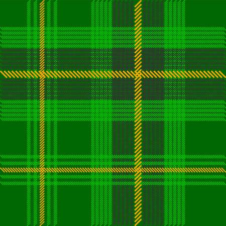 Green Tartan Fabric Texture photo