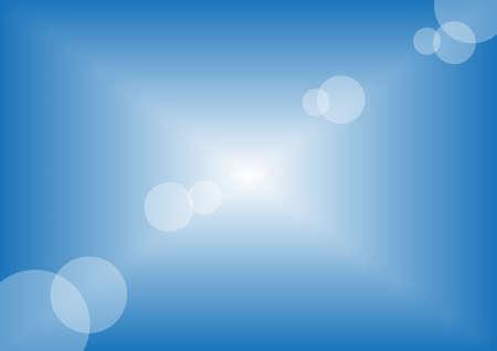 Summer Background - Illustration of Clean Blue Sky Vector