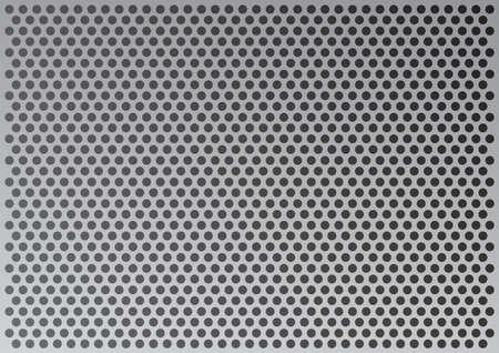 gaten: Metalen plaat