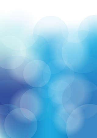 Blue Sky Bokeh Stock Photo