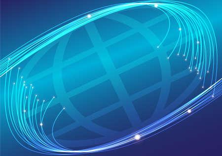 telecomm: Fibras �pticas y Globo