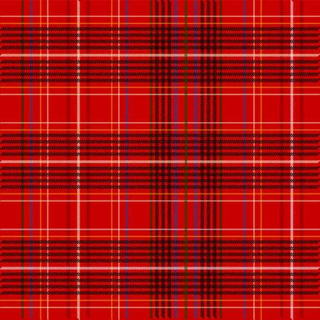 a tablecloth: Red Tartan Fabric Texture Stock Photo