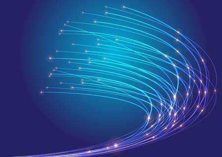 fiber optic: Optical Fibers Stock Photo