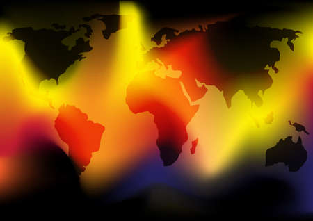 World in Flames Stock Photo - 7695452
