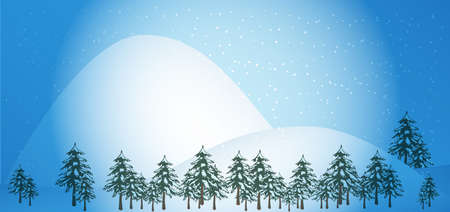 snowcovered: Winter Background